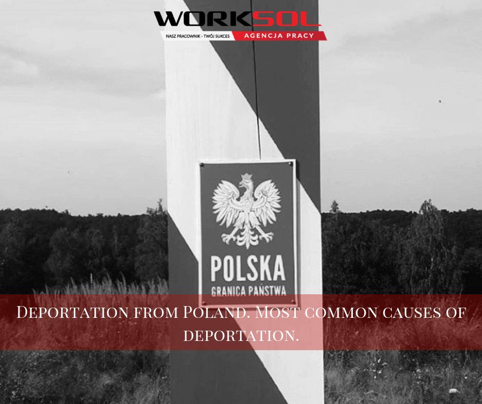 Обязательство иностранца к возвращению депортация из Польши