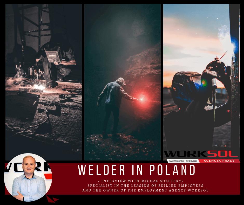 Welder in Poland