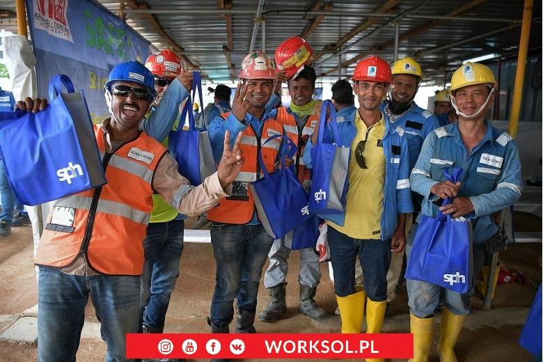 budowlańcy z Filipin