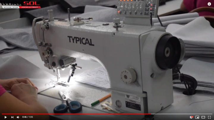 video vacancies for seamstresses