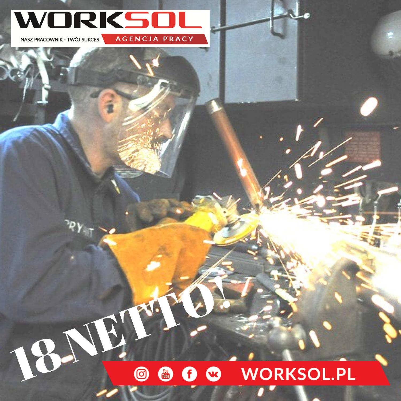 Steel Grinder - work in Poland