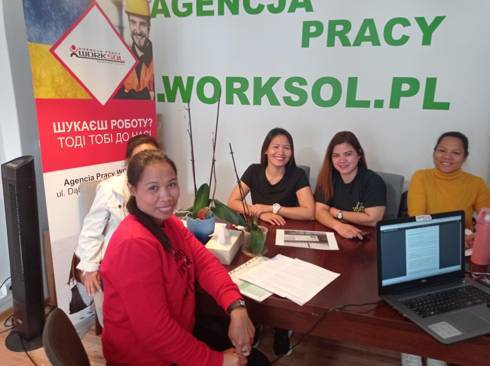 Kolejna grupa pracowników z Filipin podjęła pracę we Wrocławiu